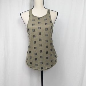 Urban Outfitters BDG Printed Racerback Tank Top M